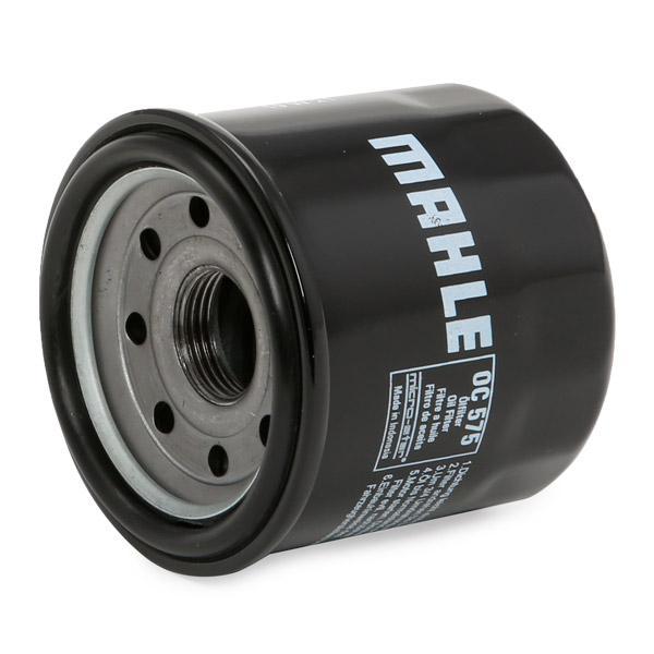70355321 MAHLE ORIGINAL Filtru insurubabil Ř: 65,0mm, Ř: 65,0mm, Înaltime: 65mm Filtru ulei OC 575 cumpără costuri reduse