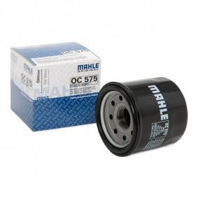 Moto MAHLE ORIGINAL Screw-on Filter Oil Filter OC 575 cheap