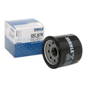 Kupi moto MAHLE ORIGINAL Filter s navojem Ø: 65,0mm Oljni filter OC 575 poceni
