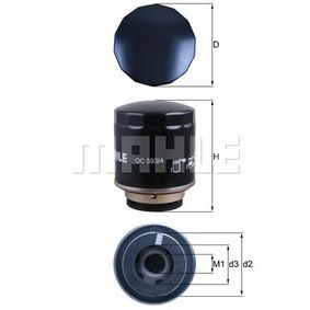 OC 593/4 Ölfilter MAHLE ORIGINAL Test