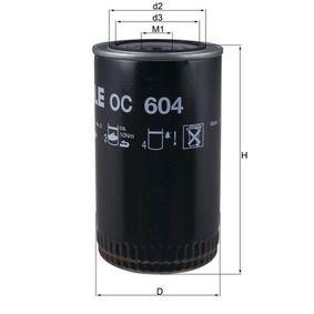 Ölfilter MAHLE ORIGINAL OC 604 mit 34% Rabatt kaufen