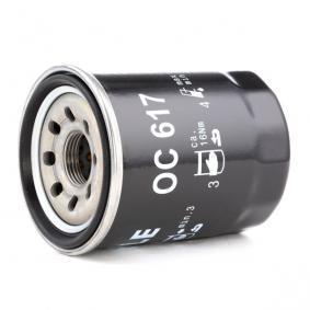 OC 617 Anschraubfilter Filterausführung Ölfilter Filter MAHLE ORIGINAL