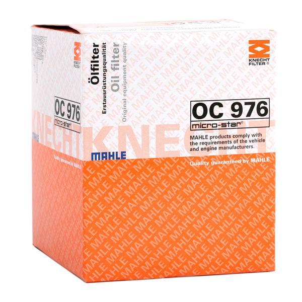 OC976 Filtre d'huile MAHLE ORIGINAL - L'expérience aux meilleurs prix