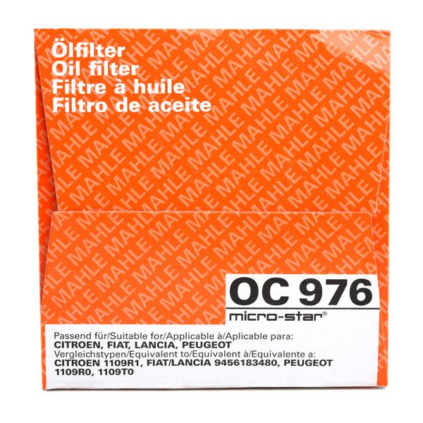 OC 976 Motorölfilter MAHLE ORIGINAL in Original Qualität