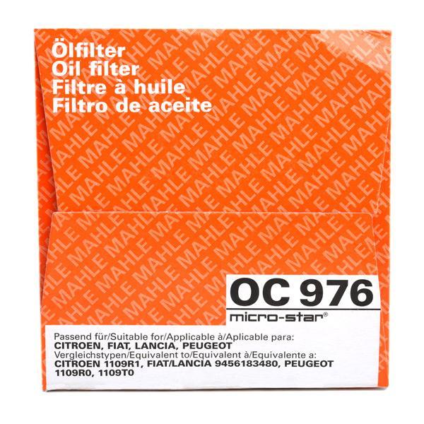 OC 976 Filtre à huile MAHLE ORIGINAL originales de qualité