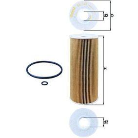 OX 143D Ölfilter MAHLE ORIGINAL Test