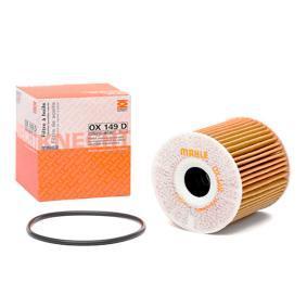 79928449 MAHLE ORIGINAL Filterinsats Innerdiameter 2: 22,5mm, Ø: 76,0mm, H: 79,0mm Oljefilter OX 149D köp lågt pris