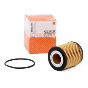 OX182DECO MAHLE ORIGINAL Filtereinsatz Innendurchmesser 2: 28,0mm, Ø: 62,2mm, Höhe: 77,25mm, Höhe 1: 66,35mm Ölfilter OX 182D günstig kaufen