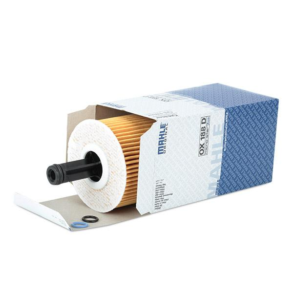 OX 188D Маслен филтър MAHLE ORIGINAL в оригиналното качество