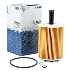 OX188D Маслен филтър MAHLE ORIGINAL OX188 - Голям избор — голямо намалание
