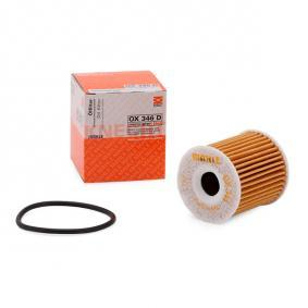 buy and replace Oil Filter MAHLE ORIGINAL OX 346D