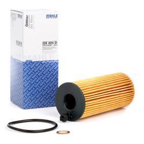 79920780 MAHLE ORIGINAL Filtereinsatz Innendurchmesser 2: 18,55mm, Ø: 53,0mm, Höhe: 133,6mm, Höhe 1: 116,1mm Ölfilter OX 404D kaufen