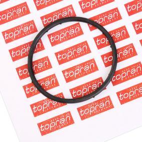 100 722 TOPRAN motorseitig Dichtung, Kühlmittelflansch 100 722 günstig kaufen