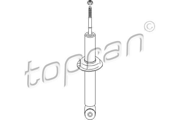Амортисьор 102 629 TOPRAN — само нови детайли