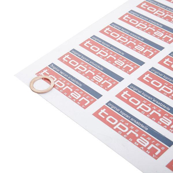 TOPRAN: Original Ölablaßschraube Dichtring 104 474 (Dicke/Stärke: 1,5mm, Ø: 20mm, Innendurchmesser: 14mm)