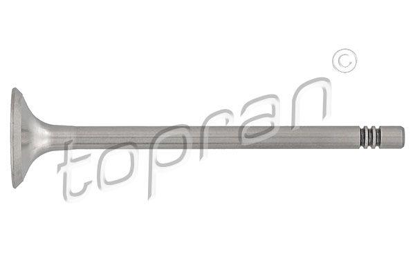 Köp TOPRAN 108 021 - Avgasventil till Skoda: Avgas-/utsläppssidan, Cylindriskt huvud