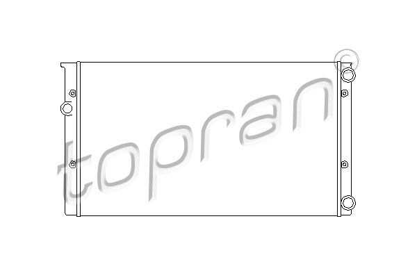 Stoßdämpfer TOPRAN 108 267