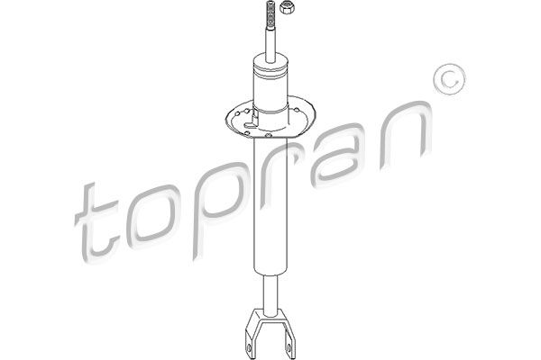 Stoßdämpfer Satz TOPRAN 108 268