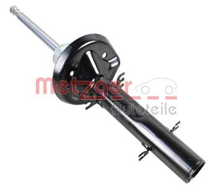 Купете 2340077 METZGER предна ос, газов, носещ пружина амортисьор, отгоре щифт, скоба отдолу Амортисьор 2340077 евтино