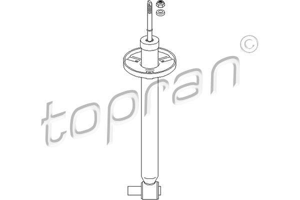 Амортисьори 108 377 TOPRAN — само нови детайли