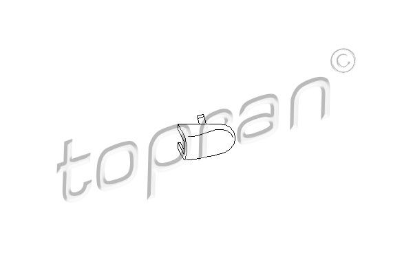 AUDI A2 2002 Türgriff - Original TOPRAN 108 867