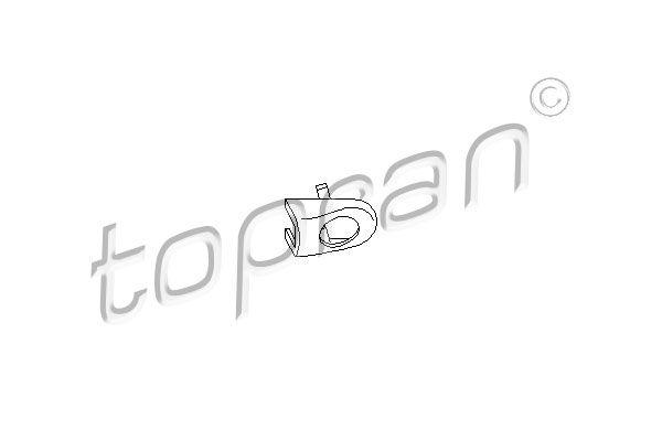 AUDI A2 2001 Türgriffe - Original TOPRAN 108 869