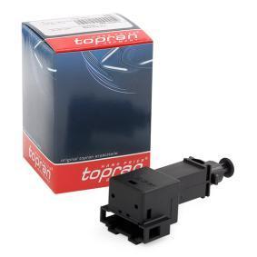 109 001 TOPRAN Número de polos: 4polos Interruptor luces freno 109 001 a buen precio
