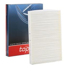 Kupte a vyměňte Filtr, vzduch v interiéru TOPRAN 109 106