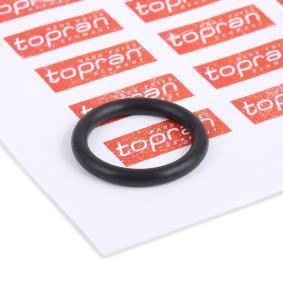 Anello tenuta, Iniettore TOPRAN 109 640 comprare e sostituisci
