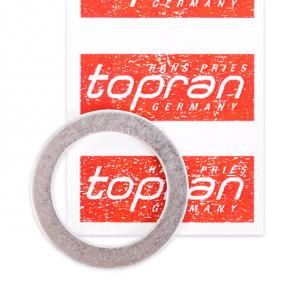 Aγοράστε και αντικαταστήστε τα Στεγανοποιητικός δακτύλιος, τάπα εκκένωσης λαδιού TOPRAN 110 600
