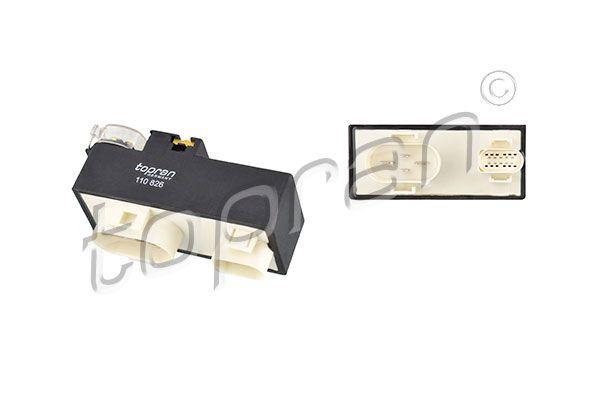 Управляващ блок, електрически вентилатор (охлаждане на двига 110 826 с добро TOPRAN съотношение цена-качество