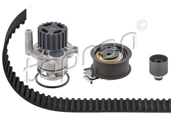 TOPRAN Water pump and timing belt kit 112 972