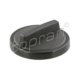 201 606 TOPRAN Kunststoff Verschluss, Kraftstoffbehälter 201 606 günstig kaufen
