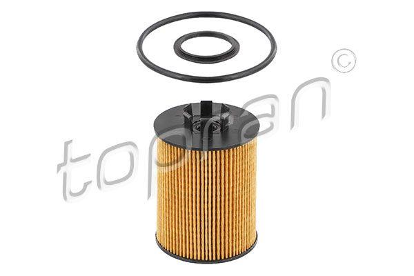 205 209 TOPRAN mit Dichtungen, Filtereinsatz Ø: 62mm, Höhe: 94mm Ölfilter 205 209 günstig kaufen