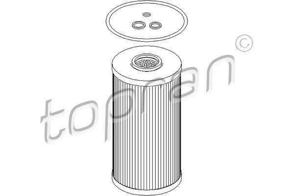 Ölfilter TOPRAN 205 592
