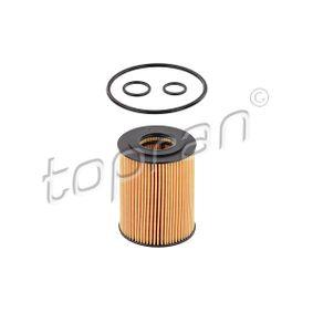 206 045 Ölfilter TOPRAN Test