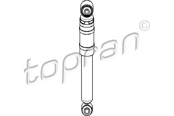 Амортисьори 206 060 TOPRAN — само нови детайли