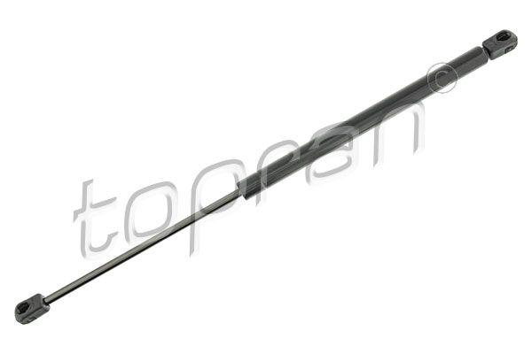 206 321 TOPRAN Fahrzeugheckklappe, beidseitig, Ausschubkraft: 600N Heckklappendämpfer / Gasfeder 206 321 günstig kaufen