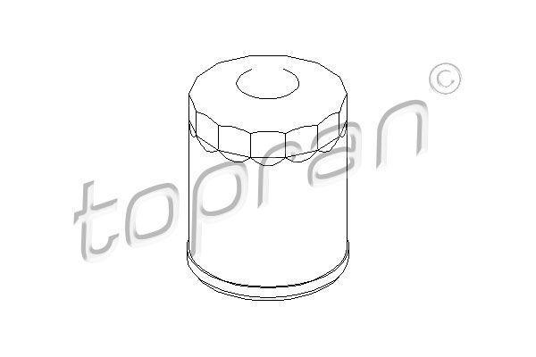 Ölfilter TOPRAN 300 029