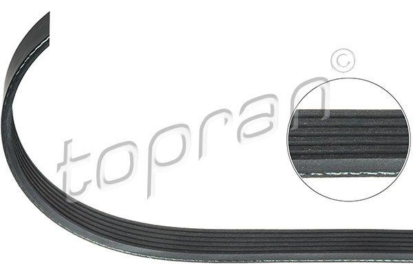 Serpentinrem 301 911 TOPRAN — bara nya delar