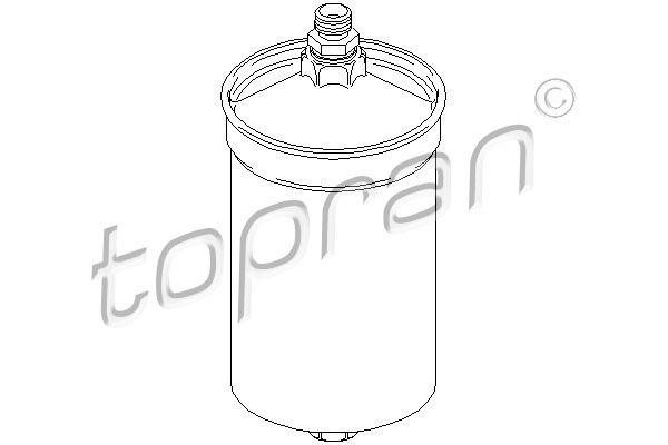 TOPRAN Kraftstofffilter 400 884