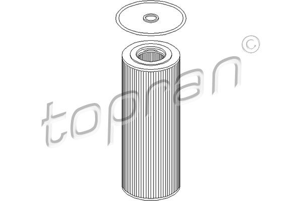 Ölfilter TOPRAN 400 990