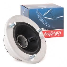 500 020 TOPRAN Framaxel, båda sidor, med rullager Fjäderbens-stödlager 500 020 köp lågt pris