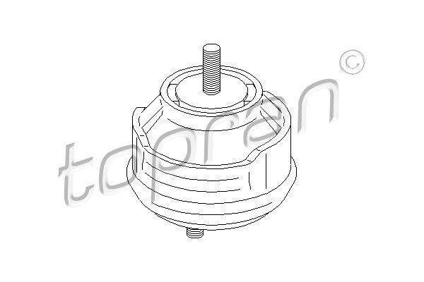TOPRAN | Lagerung, Motor 500 278