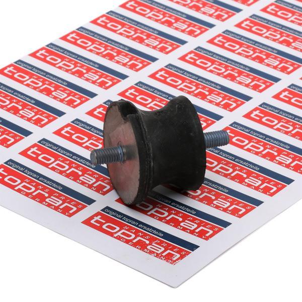 TOPRAN   Lagerung, Schaltgetriebe 500 286