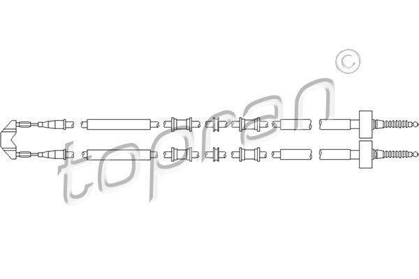 TOPRAN Wasserpumpe 500 309