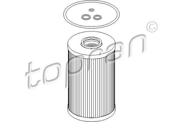 Motorölfilter TOPRAN 500 920