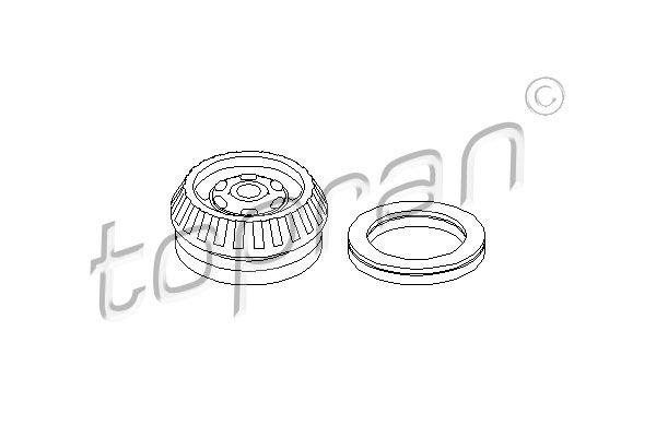 OE Original Bremsschläuche 501 127 TOPRAN