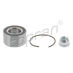 700 178 TOPRAN Front axle both sides, with lock ring, with nut Ø: 72mm, Inner Diameter: 37mm Wheel Bearing Kit 700 178 cheap