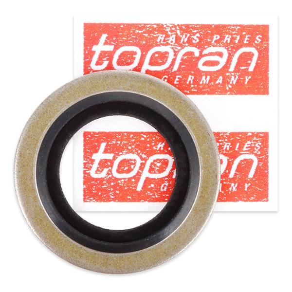 TOPRAN 721 133 (Épaisseur: 2mm, Ø: 24mm, Diamètre intérieur: 16mm) : Joints d'etanchéité Twingo c06 2005